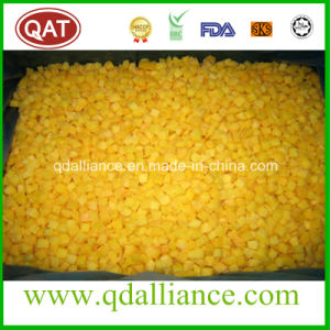 IQF Frozen Diced Yellow Peach with Kosher Certificate pictures & photos