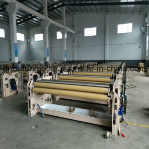 190cm Single Nozzle Water Jet Loom with Niupai Dobby Shedding pictures & photos