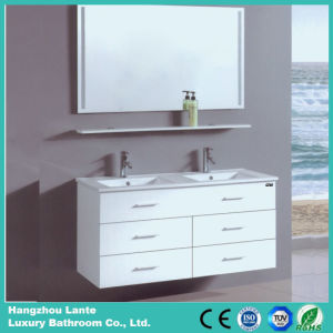 Fashion Desgin White Color Bathroom Cabinet (LT-C057) pictures & photos