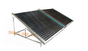 Direct Flow Vacuum Tube Low Pressurized Solar Collector pictures & photos