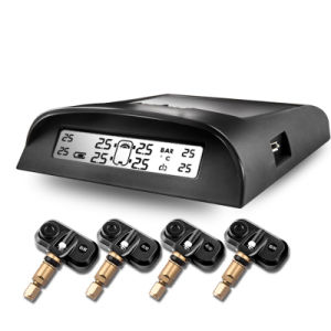 Universal Wireless LCD Solar Power Tire Pressure Monitoring System Internal TPMS pictures & photos