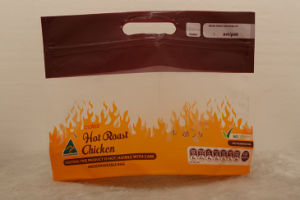 Plastic Stand up Chicken Bag with Window pictures & photos