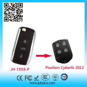Positron Cyber Fx Pst 2013 Rolling Code Car Remote Control (JH-TX59-P) pictures & photos