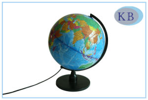32cm PVC World Globes with LED Light pictures & photos