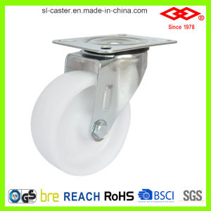 100mm Swivel Plate White PP Castor (P103-30D100X35) pictures & photos