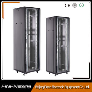 """19"""" 18-42u Stainless Steel Material Floor Standing Cabinet pictures & photos"""