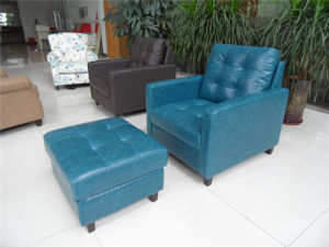 Living Room Sofa with Modern Genuine Leather Sofa Set (456) pictures & photos