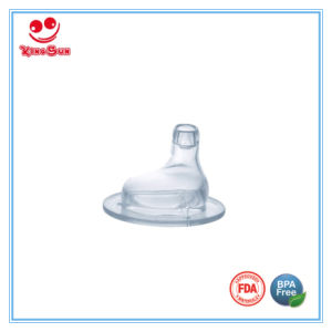 Wide Neck Silicone Baby Juice Nipple pictures & photos