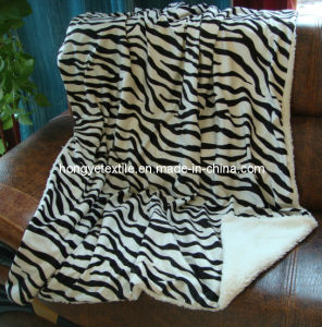 100% Polyester Micro Mink Wth 200GSM Bonded One Layper Lamp 220GSM