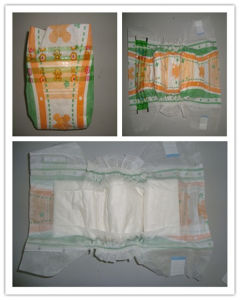 Hot Sale Cheap Price High Absorption Breathable Film Disposable Baby Diaper pictures & photos