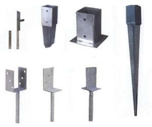 Galvanized Pole Anchor, Post Anchor, Ground Anchor