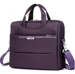 Ladies Women Men Single Shoulder Business Messenger Laptop Bag (CY9963) pictures & photos