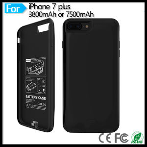"Mobile Phone 7500mAh External Battery Pack Backup Charger Case Pack Power Bank for iPhone 7 Plus 5.5"" pictures & photos"