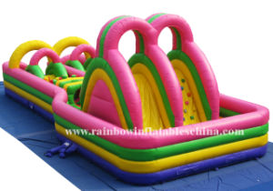 2016 Funny Kids Amazing Bouncer Giant Inflatable Obstacle Course pictures & photos