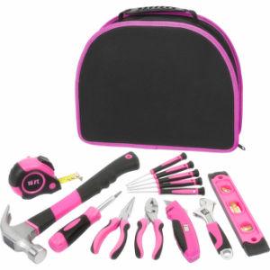 12PCS Pink Ladies Tool Bag Kit pictures & photos