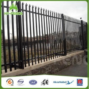 2.1m High W Type Galvanized Palisade Fence pictures & photos