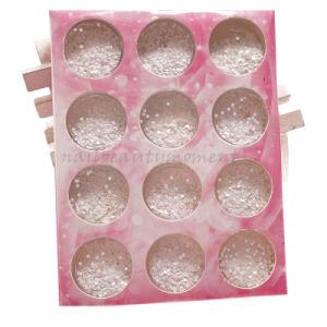 Thin Nails Art Round Shape Glitter Decoration Manicure Kit (D69)