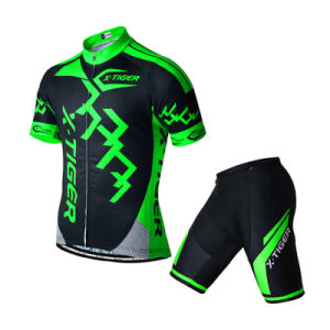 Custom Men Sublimated Short Sleeves Cycling Jersey and Shorts pictures & photos