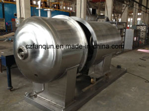 Stainless Steel Round Vacuum Dryer for Chemical and Food Product