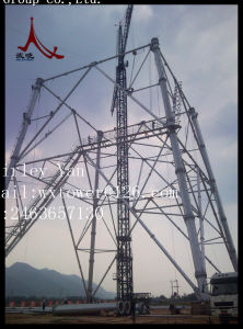 HDG Power Transmission Line Suspension and Terminal Steel Tower pictures & photos