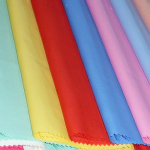 100% Polyester Fabric Dyed (HFPOLY) pictures & photos