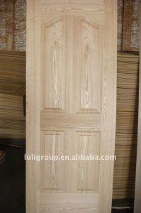 Teak Veneer HDF Molded Door Skin pictures & photos