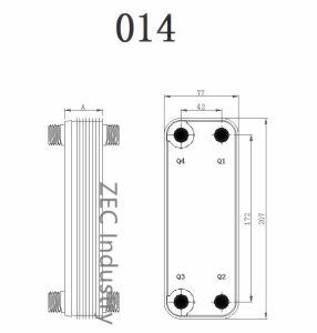 Brazed Plate Heat Exchanger, Plate Type Heat Exchanger pictures & photos