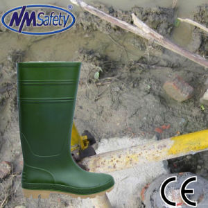 Nmsafety PVC Normal Style Rain Gum Boots pictures & photos