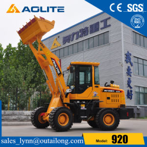 Low Price 1ton Small Hydraulic Tractor Loader 920 for Sale pictures & photos
