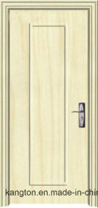 Mdfbathroom Wooden PVC Plastic Interior Door Profile (PVC door) pictures & photos