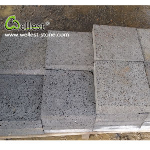 Natural Grey Basalt Volcanic Paving Stone for Outdoor pictures & photos