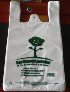 HDPE Shopping Bag with Printing pictures & photos