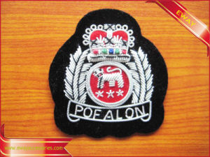 Men Shirt Embroidery Patch Clothing Woven Patch pictures & photos