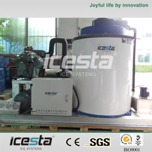 Icesta Flake Ice Machine with PLC Control System pictures & photos