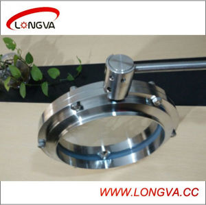 Stainless Steel 10 Inch Welded Butterfly Valve pictures & photos