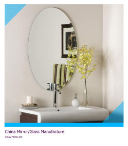 Frameless Oval etc Shaped Bathroom Silvered Mirror pictures & photos