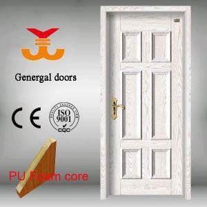 PU Foam Solid Core Steel Door pictures & photos