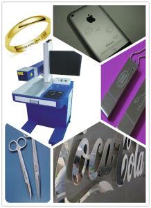 Desktop Fiber Laser Marking and Engraving Machine for I-Pad, iPhone/Apple