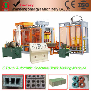 Full Automatic Concrete Hollow Block Making Machine Qt8-15 pictures & photos