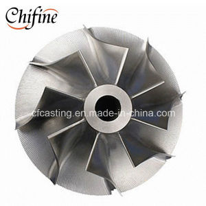 High Precision Investment Casting Pump Impeller pictures & photos