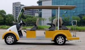 Cheapest Popular 6 Seater Classical Electric Sightseeing Bus Made in China pictures & photos