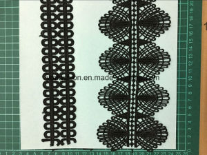 Black Color High Quality Polyester Lace pictures & photos
