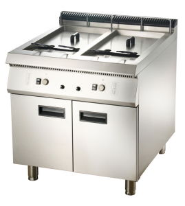 Gas 2-Tank Fryer with Cabinet (LGF-92C/72C) pictures & photos