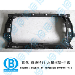 for Hyundai Accent 2011 Radiator Panel
