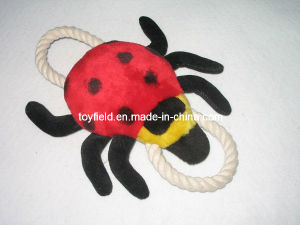 Rope Toy Plush Pet Dog Ladybug Pet Products pictures & photos