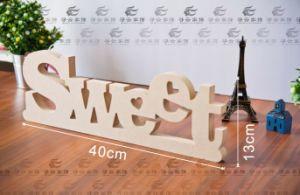 Antique Wood Sample Reference DIY Letter for Promotion