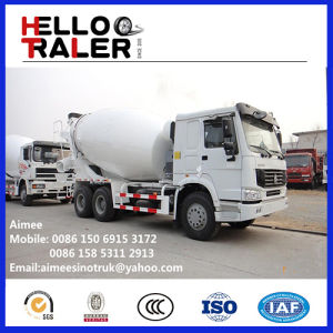 HOWO 10cbm 6X4 Concrete Mixer Truck for Africa pictures & photos