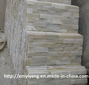 White Quartz Cultured Stone for Wall Cladding pictures & photos