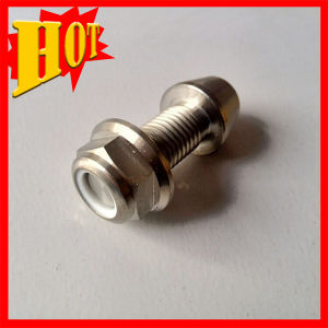 M10 Titanium Flanged Hex Bolts with Nylocs Nut pictures & photos