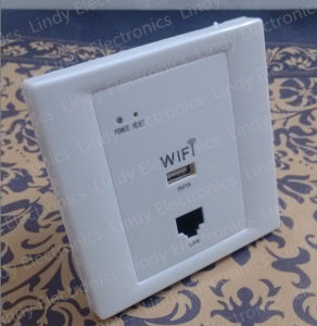 Wall WiFi Router Socket in Wall Ap Poe Router Wall WiFi Switch Socket